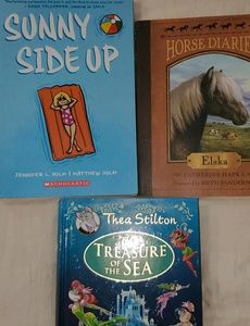 Lot of 3 Books-- See details below